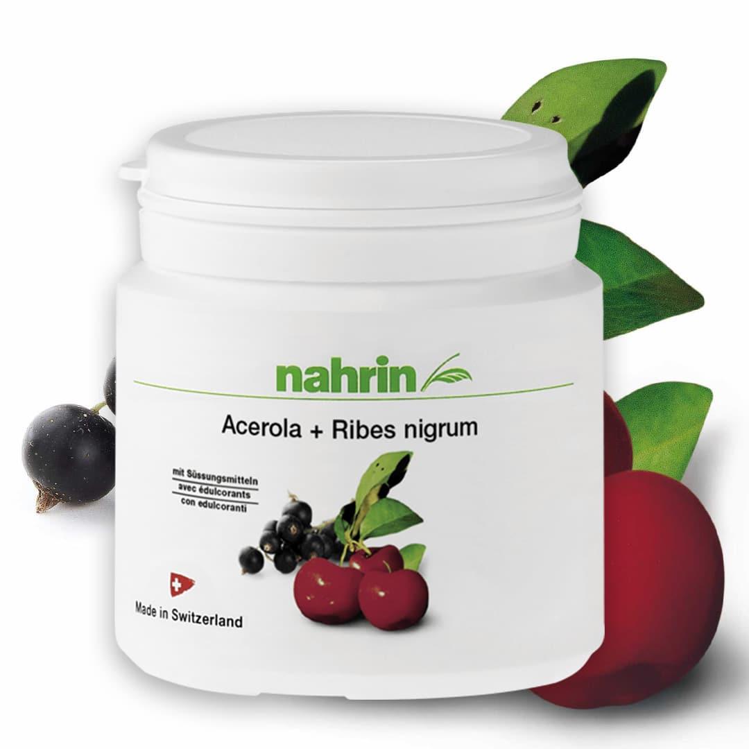 Acerola loodusliku C-vitamiini dropsid, 100mg/60tk