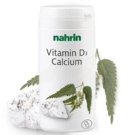 Kапсулы витамина d + кальция с экстрактом крапивы двудомной и фолиевой кислотой, 60штук