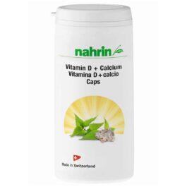 D-vitamiini kapslid kaltsiumi, kõrvenõgese ja foolhappega