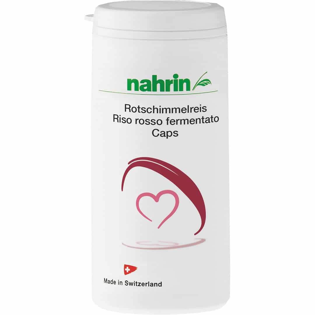 Kääritatud Punase Riisi Kapslid LDL-kolesterooli vähendamiseks, 38,6g