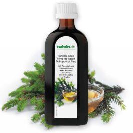 Сироп из еловых побегов и меда, 250 мл, пищевая добавка облегчает боль в горле