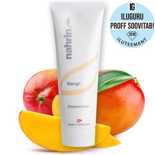 Крем для тела с манго, 250 мл также для чувствительной кожи