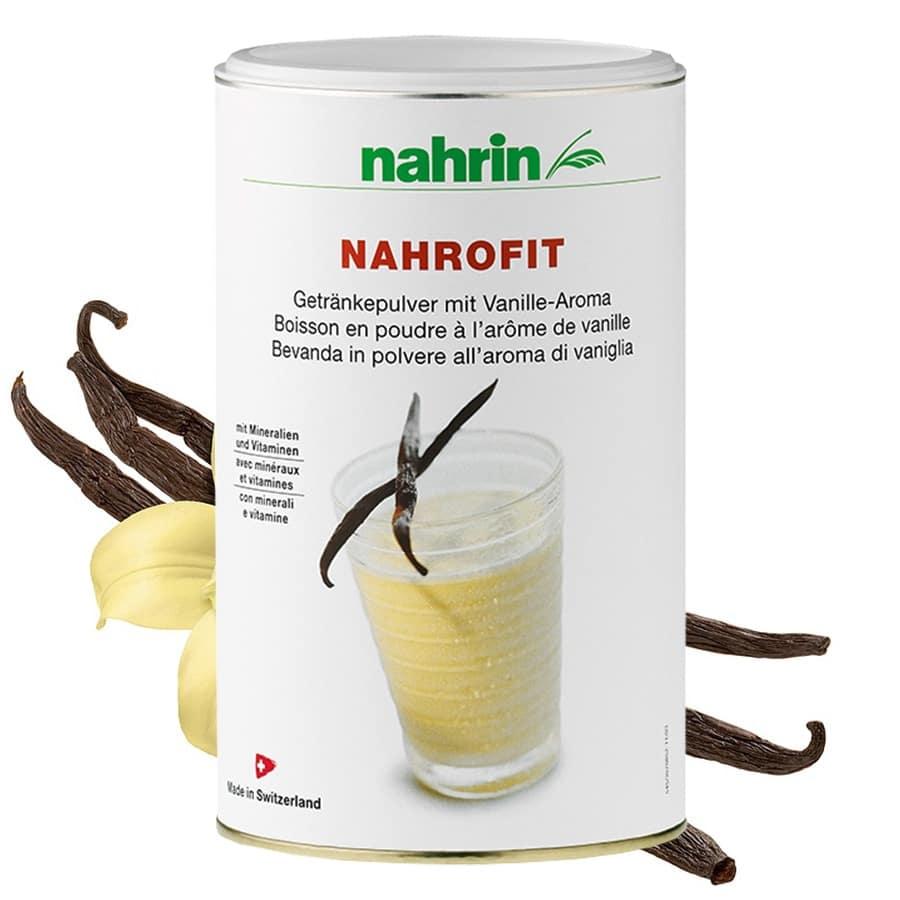 Nahrofit Vaniljejook 470g piimaproteiinide, vitamiinide ja mineraalidega