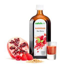 Сироп наросан из спелых ягод, 500 мл, пищевая добавка с витаминами и минералами