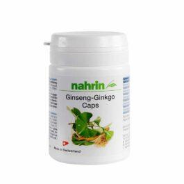 Kапсулы гинкго женьшень с витамином в1, в2 и в3, 30штук