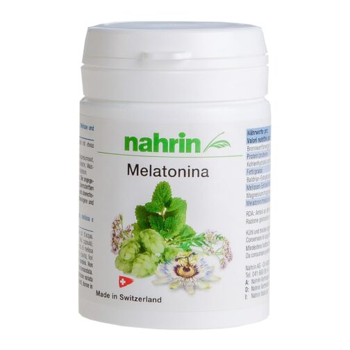 Капсулы  мелатонина, пищевая добавка для крепкого сна 30 капсул Содержит мелиссу, валерьяну, хмель и страстоцвет
