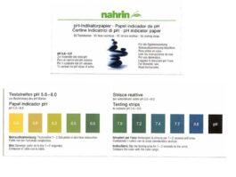 pH tester keha happesuse määramiseks, 55tk