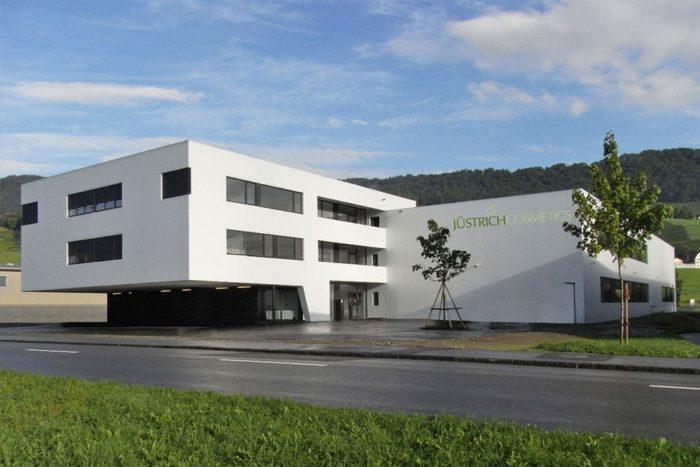 Jüstrich Cosmetics tehas Šveits
