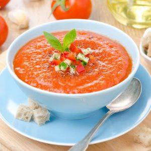 Värskendav Hispaania suvesupp gazpacho