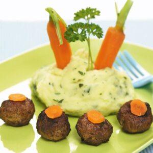 Lihapallid kartulipudruga