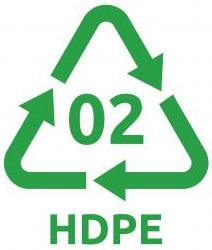 HDPE keskkonnasõbralik pakend