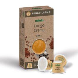 Kohvikapslid Caffe Lungo Crema, 10tk, biolagunevad