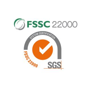 Nahrinile väljastatud kõrgeim toiduohutuse sertifikaat FSSC 22000